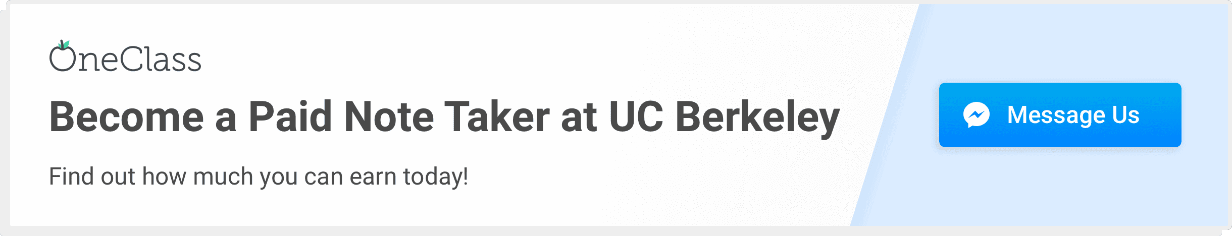 become a paid notetaker at UC Berkeley