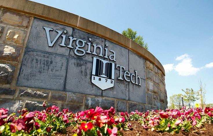Virginia tech mens lacrosse camp sign