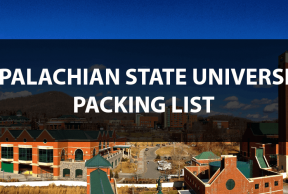 What to Bring to App State: The Move In Day Packing List