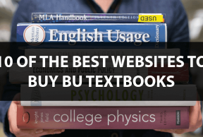 10 of the Best Websites to Buy Boston University Textbooks