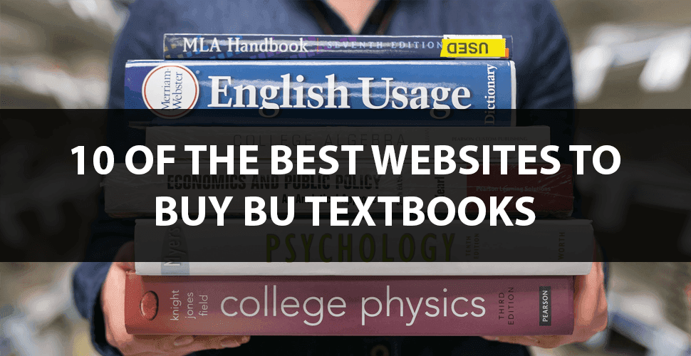 Boston university textbooks