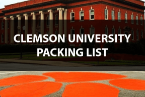 What to Bring to Clemson University: The Move In Day Packing List