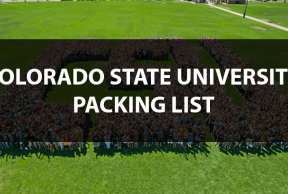What to Bring to Colorado State: The Move In Day Packing List