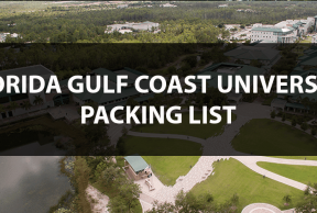 What to Bring to FGCU: The Move In Day Packing List