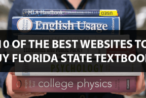 10 of the Best Websites to Buy Florida State Textbooks