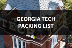 What to Bring to Georgia Tech: The Move In Day Packing List