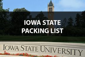 What to Bring to Iowa State University: The Move In Day Packing List