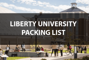 What to Bring to Liberty University: The Move In Day Packing List