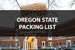 What to Bring to Oregon State: The Move In Day Packing List
