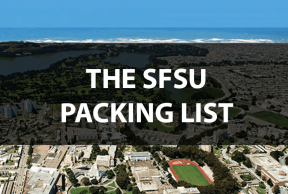 What to Bring to SFSU: The Move In Day Packing List
