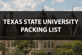 What to Bring to Texas State: The Move In Day Packing List