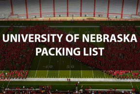 What to Bring to UNL: The Move In Day Packing List