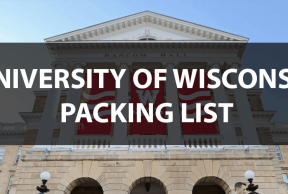What to Bring to UW Madison: The Move In Day Packing List