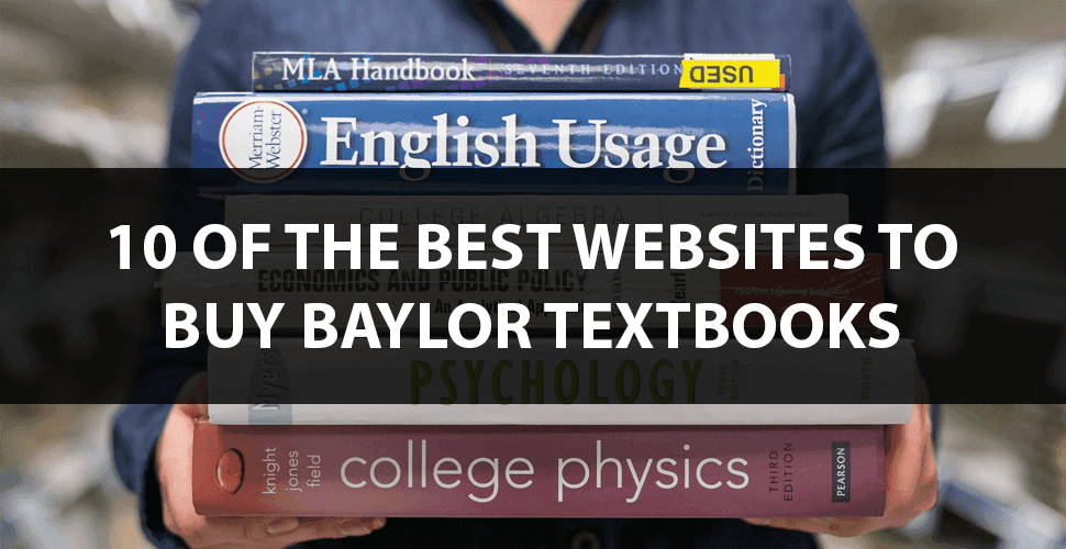 Baylor university textbooks