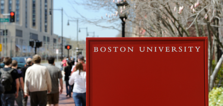 Boston university feat