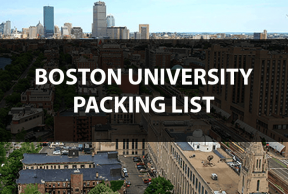 What to Bring to Boston University: The Move In Day Packing List