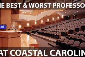 The Best and Worst Professors at Coastal Carolina University