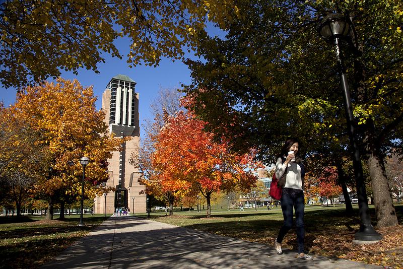 Fall north campus 101712