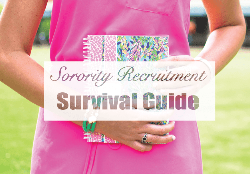 Sorority recruitment guide