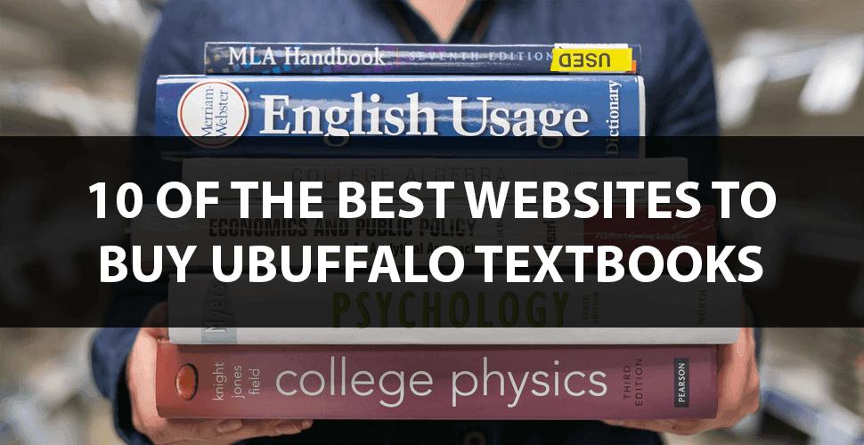 Ubuffalo textbooks