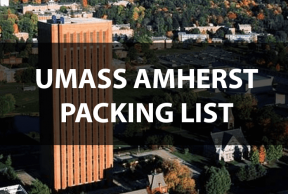 What to Bring to UMass Amherst: The Move In Day Packing List