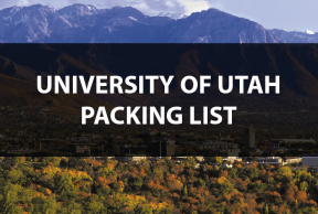 What to Bring to the University of Utah: The Move In Day Packing List