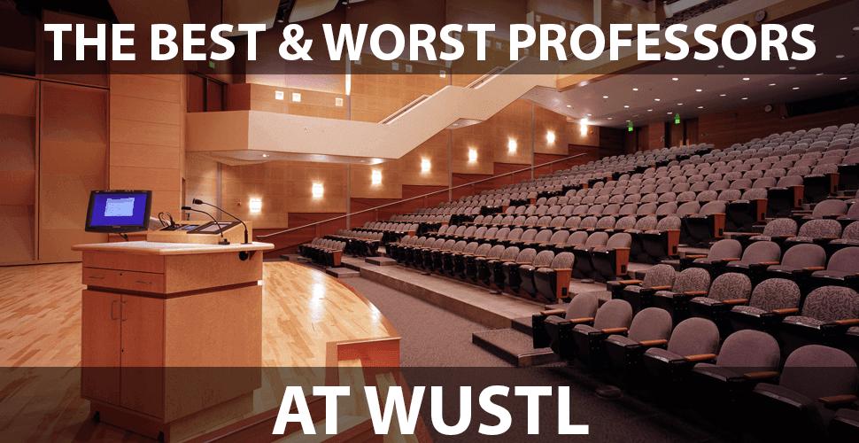 Wustl professors