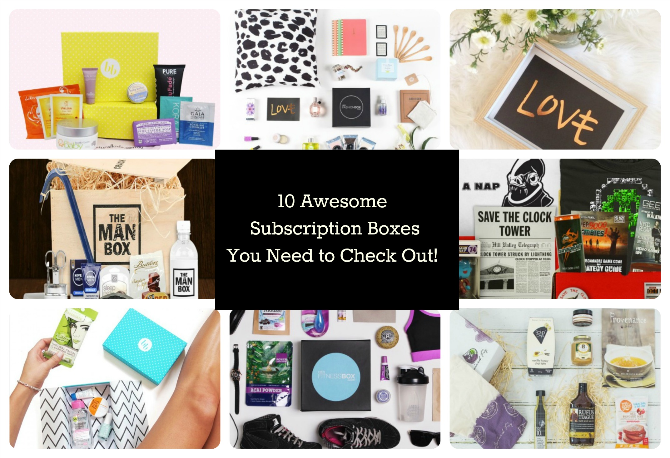 10 awesome subscription boxes