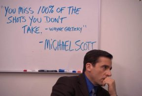 Going Back To School As Told by Michael Scott