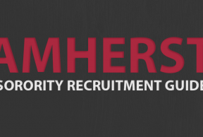 Tips to Survive UMass Amherst Sorority Rush Week