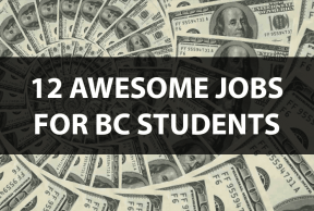 12 Awesome Jobs for Boston College Students