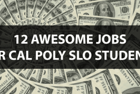 12 Awesome Jobs for Cal Poly SLO Students