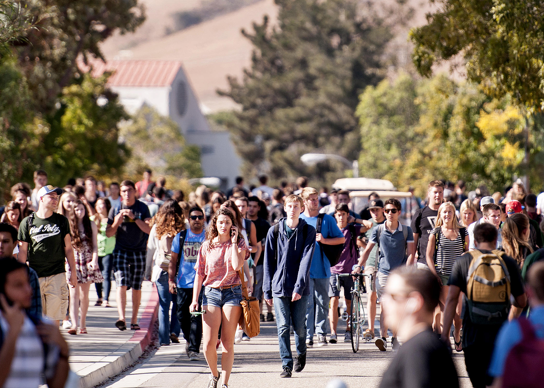 Cal poly first day fall 2014 1
