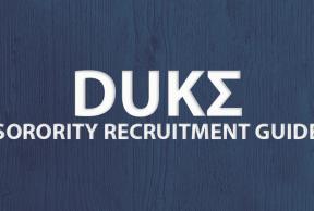 Tips to Survive Duke University Sorority Rush Week