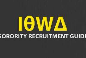 Tips to Survive University of Iowa Sorority Rush Week