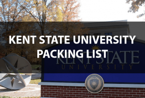 What to Bring to Kent State: The Move In Day Packing List