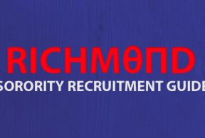 Tips to Survive University of Richmond Sorority Rush Week