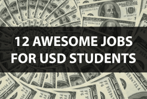 12 Awesome Jobs for USD Students
