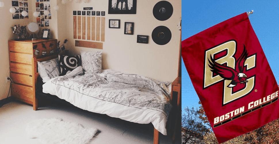 Boston college dorms
