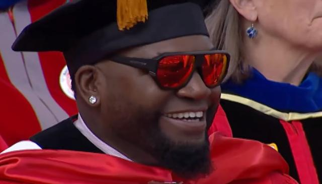 Boston university david ortiz