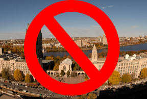 20 Items Not to Bring to Boston University