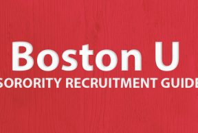 Tips to Survive Boston University Sorority Rush Week