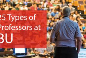 25 Types of Professors at Boston University
