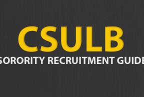 Tips to Survive CSULB Sorority Rush Week