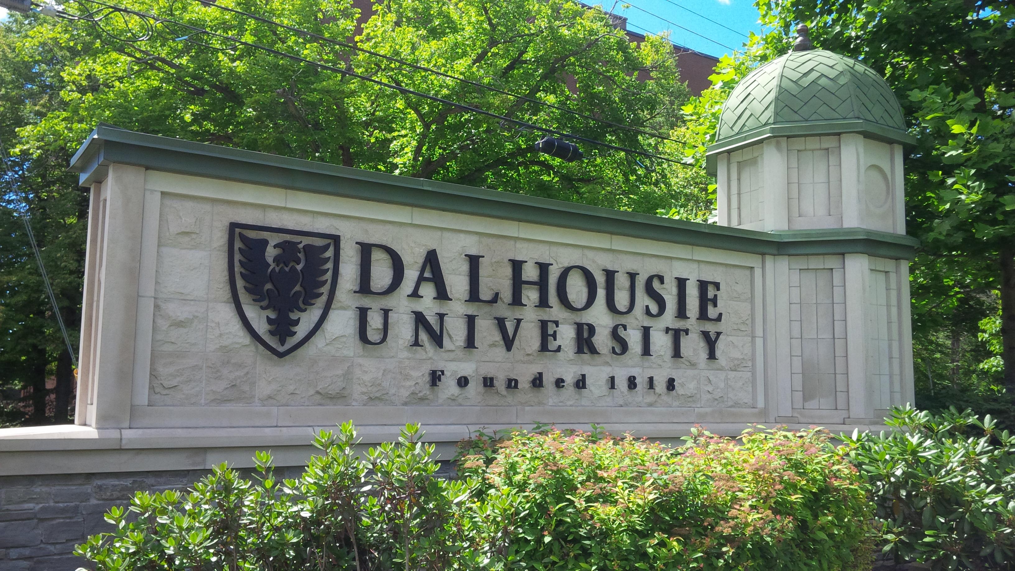 Dalhousie sign