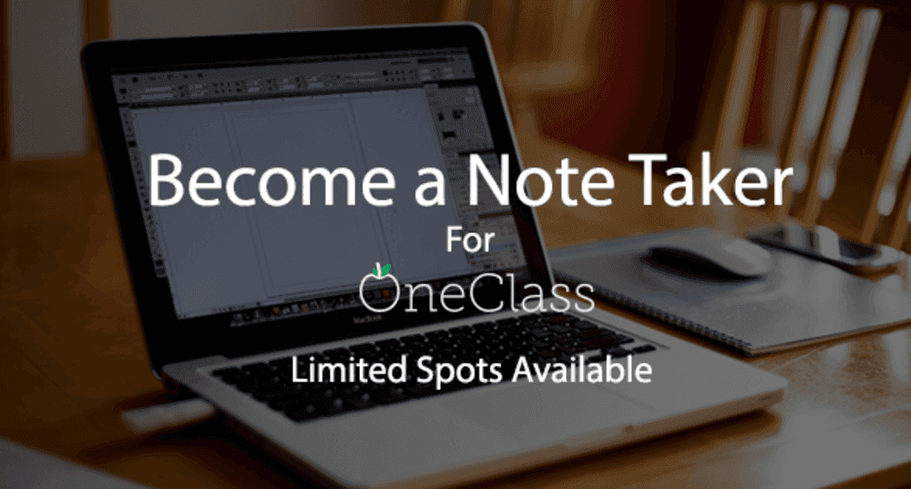 Become a Notetaker at Elon University