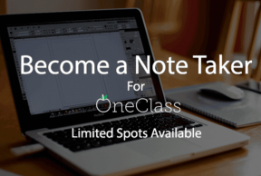Become a Notetaker at Georgetown University