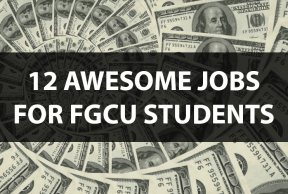 12 Awesome Jobs for FGCU Students