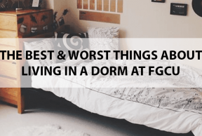 The Best and Worst Things About Living in a Dorm at FGCU
