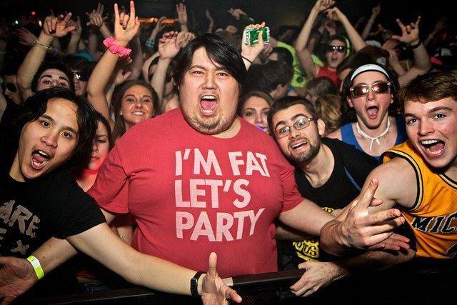 Im fat lets party 1